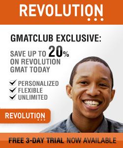 Revolution GMAT